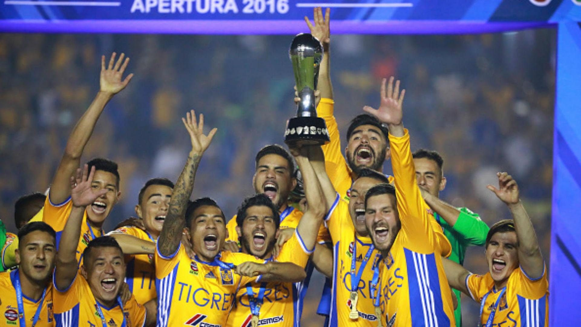 Tigres Campeón Liga MX Apertura 2016