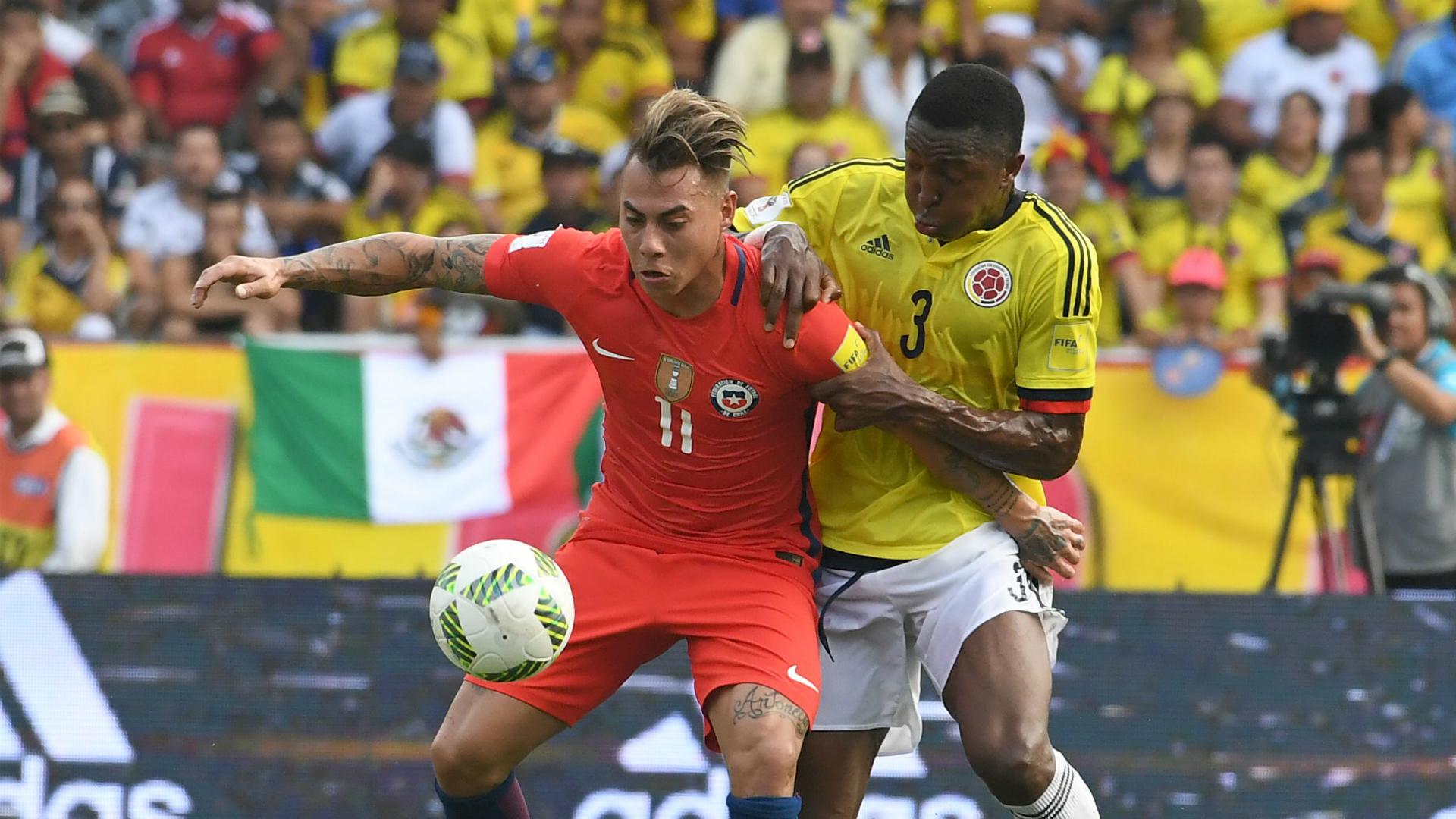Bandera de México Colombia vs Chile