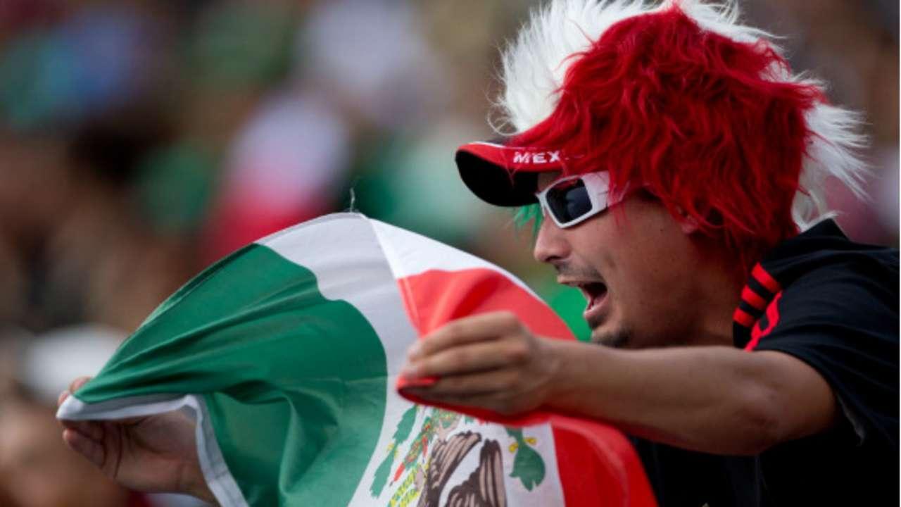 México fans Copa Oro