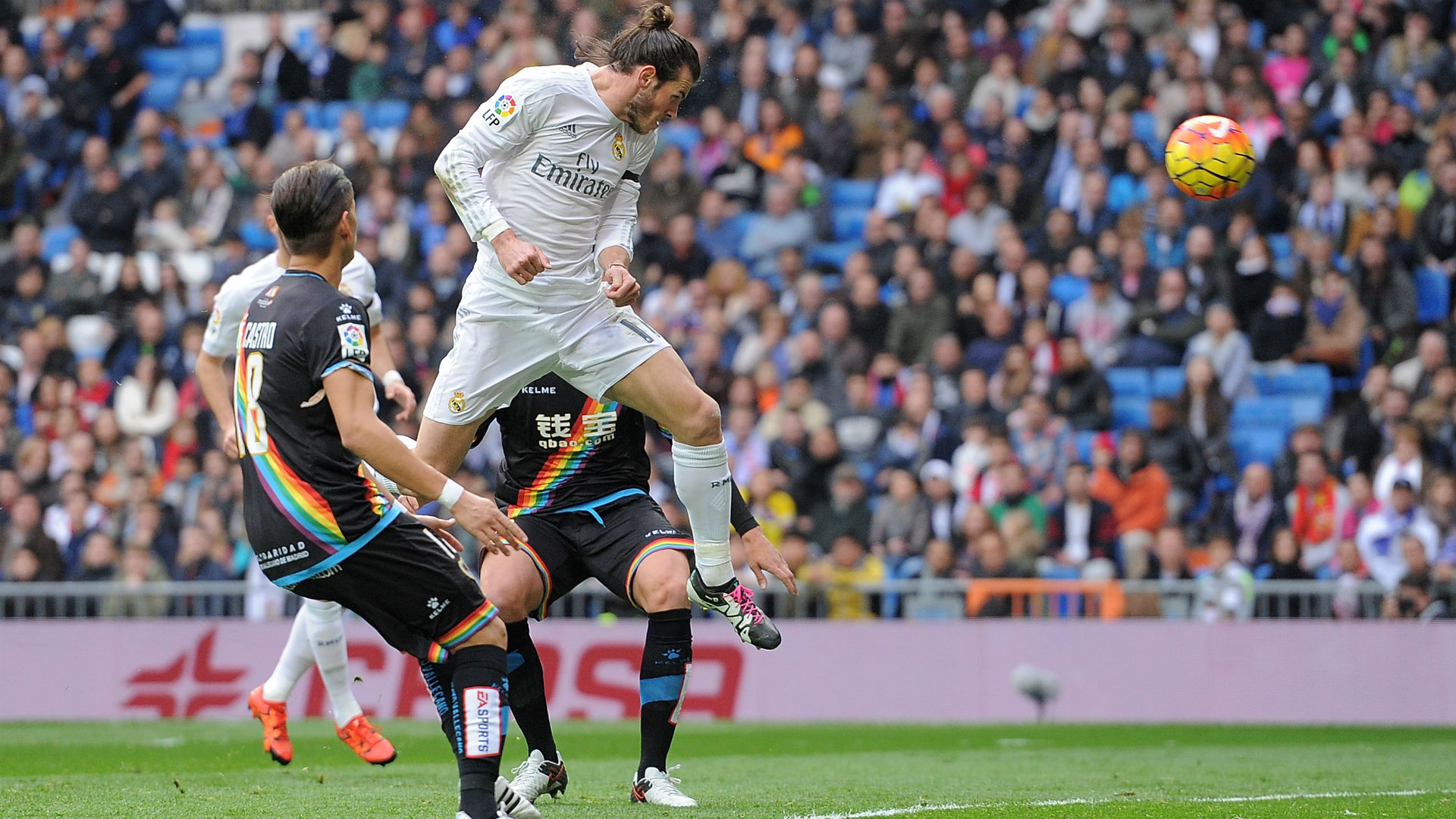 Gareth Bale Real Madrid vs Rayo Vallecano 2015/2016