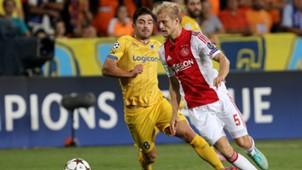 APOEL Ajax Champions League 09232014