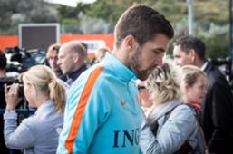 Kevin Strootman, training Oranje, 04102016