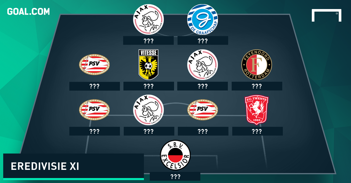 Eredivisie Opta Team van de Week