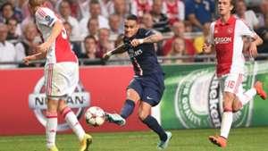 Ajax - Paris Saint-Germain, Gregory van der Wiel, UEFA Champions League 17092014