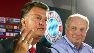Louis van Gaal Bayern München presentation