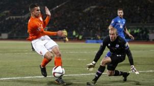 Robin van Persie, Iceland - Netherlands, Euro 2016 qualifier, 13102014