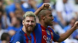 Lionel Messi Rafinha Leganes Barcelona La Liga 09172016