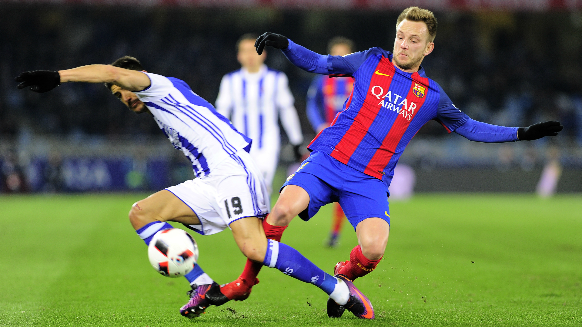Ivan Rakitic, Real Sociedad - Barcelona, Copa del Rey, 01192017