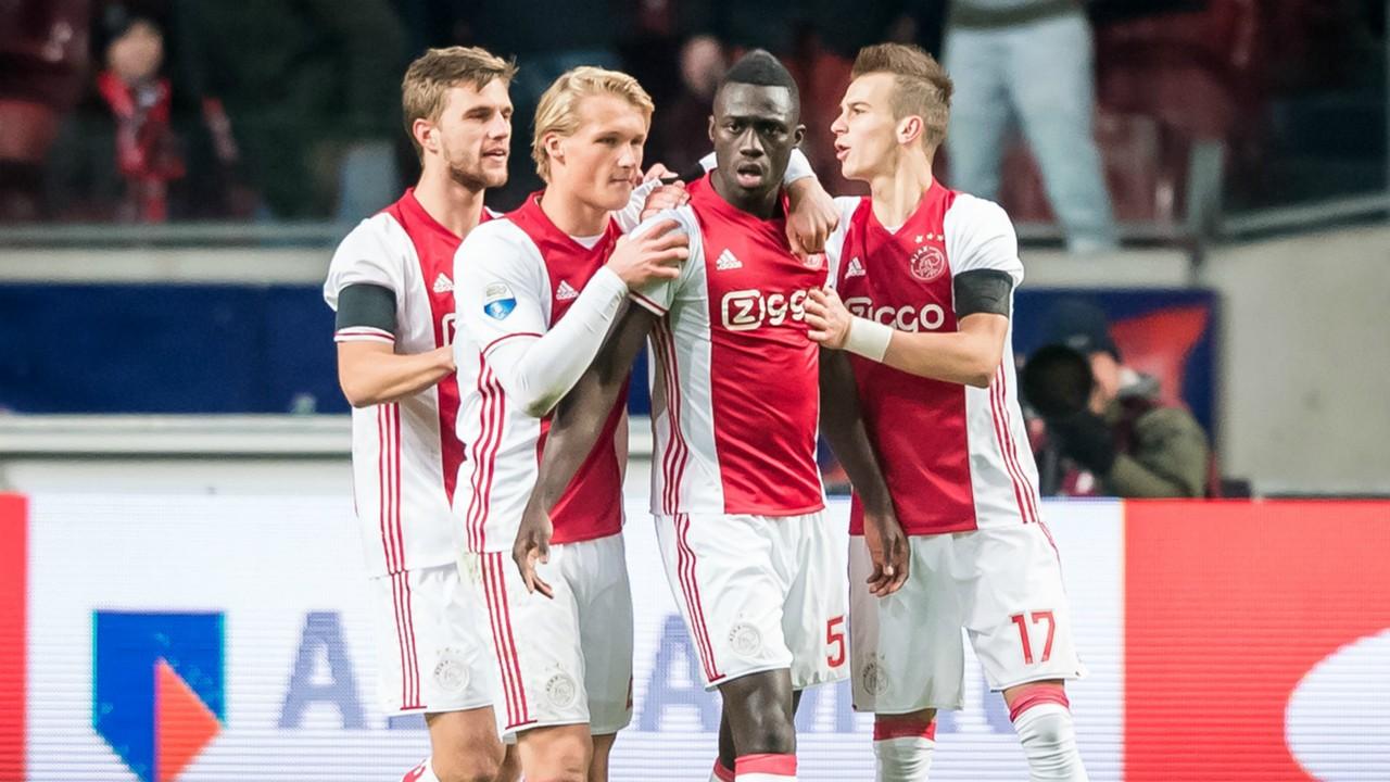 Veltman Dolberg Sánchez Cerny Ajax FC Groningen Eredivisie 12042016