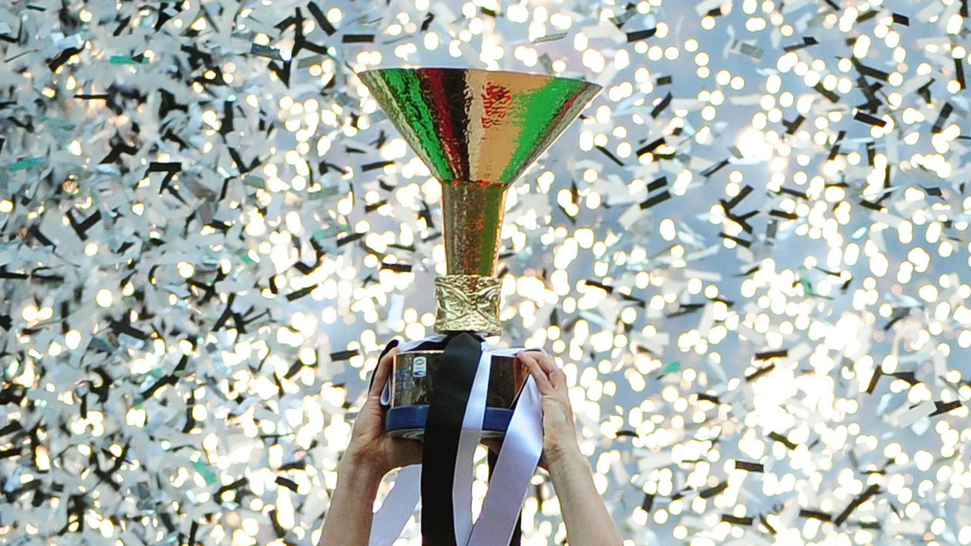 Scudetto trophy Serie A