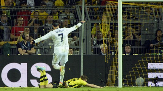 Cristiano Ronaldo Borussia Dortmund - Real Madrid 04242013 Champions League