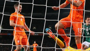 Joel Veltman, Netherlands - Mexico, Friendly, 12112014
