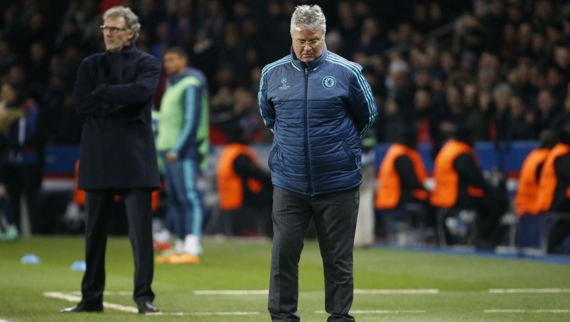 Guus Hiddink, Chelsea, Champions League, 20160216