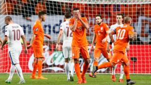 Robin van Persie, Wesley Sneijder, Netherlands - Czech Republic