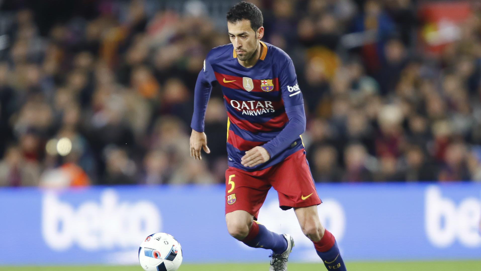Sergio Busquets, FC Barcelona, 20160106