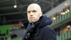 Erik ten Hag, FC Groningen - FC Utrecht, Eredivisie 02262017