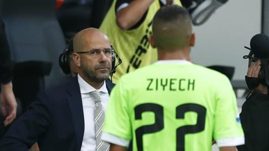 Peter Bosz, Hakim Ziyech, Ajax, Eredivisie, 18092016