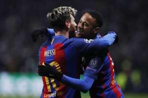 Leo Messi, Neymar, Celtic - Barcelona, 23112016