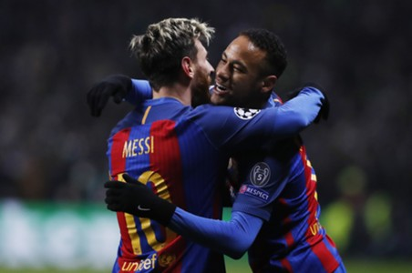 Leo Messi, Neymar, Celtic - Barcelona, 23112016