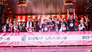 Sparta Rotterdam, kampioen  Jupiler League