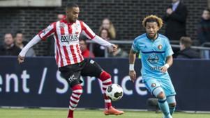 Jerson Cabral, Tony Vilhena, Sparta Rotterdam - Feyenoord, Eredivisie, 05032017