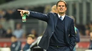 Frank de Boer, Internazionale, Serie A, 10162016