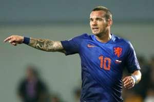 Sneijder Czech Republic Holland EC Qualifier 09092014