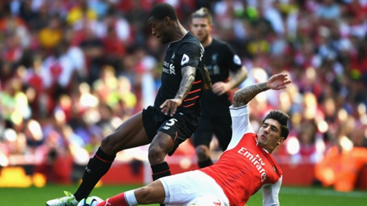Hector Bellerin, Georginio Wijnaldum, Arsenal, Liverpool, Premier League, 20160814