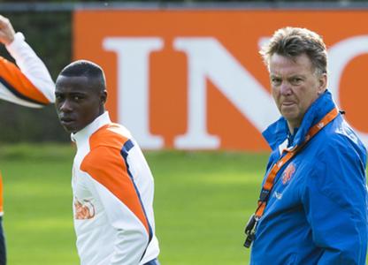 Quincy Promes, Louis van Gaal, Nederlands elftal