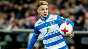Calvin Verdonk, PEC Zwolle, Eredivisie, 11202016