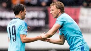 Steven Berghuis, Dirk Kuyt, Feyenoord, Eredivisie, 03052017