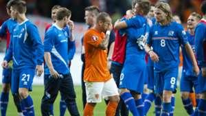 Sneijder Netherlands Iceland Euro Qualifier 09032015