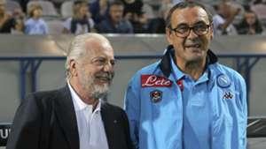 Aurelio De Laurentiis, Maurizio Sarri, SSC Napoli, Serie A, 09232015