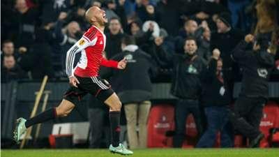 Feyenoord - Sevilla, Karim El Ahmadi, Europa League, 27112014