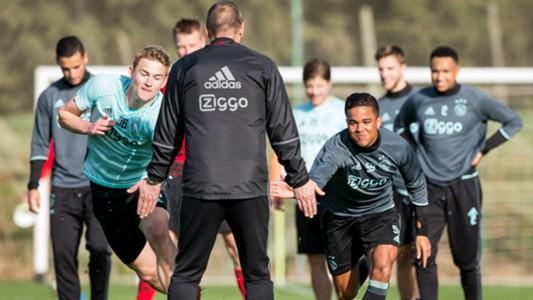 Matthijs de Ligt Justin Kluivert Ajax Eredivisie