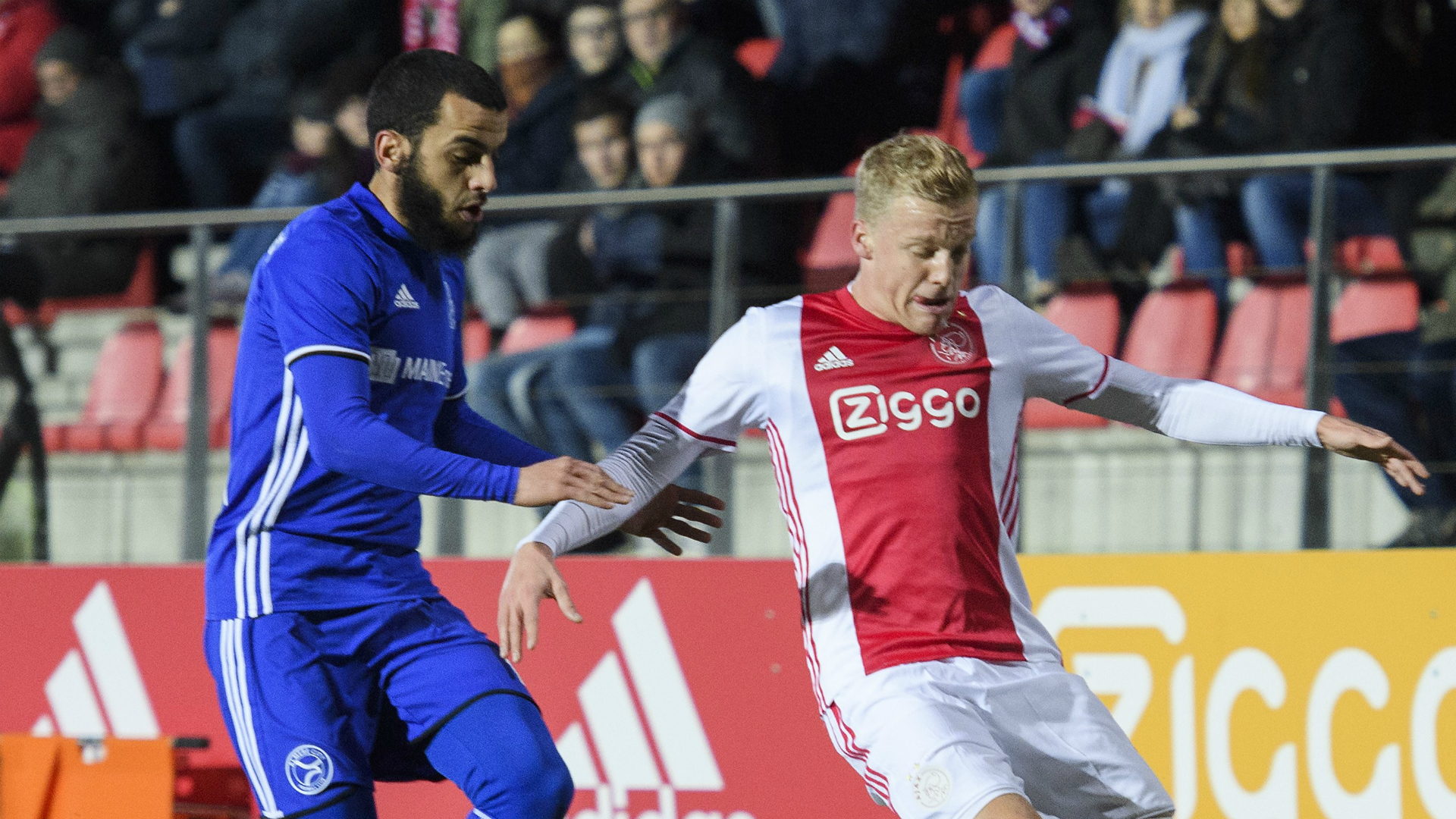 Donny van de Beek, Jong Ajax - Almere City FC, Jupiler League 01302017