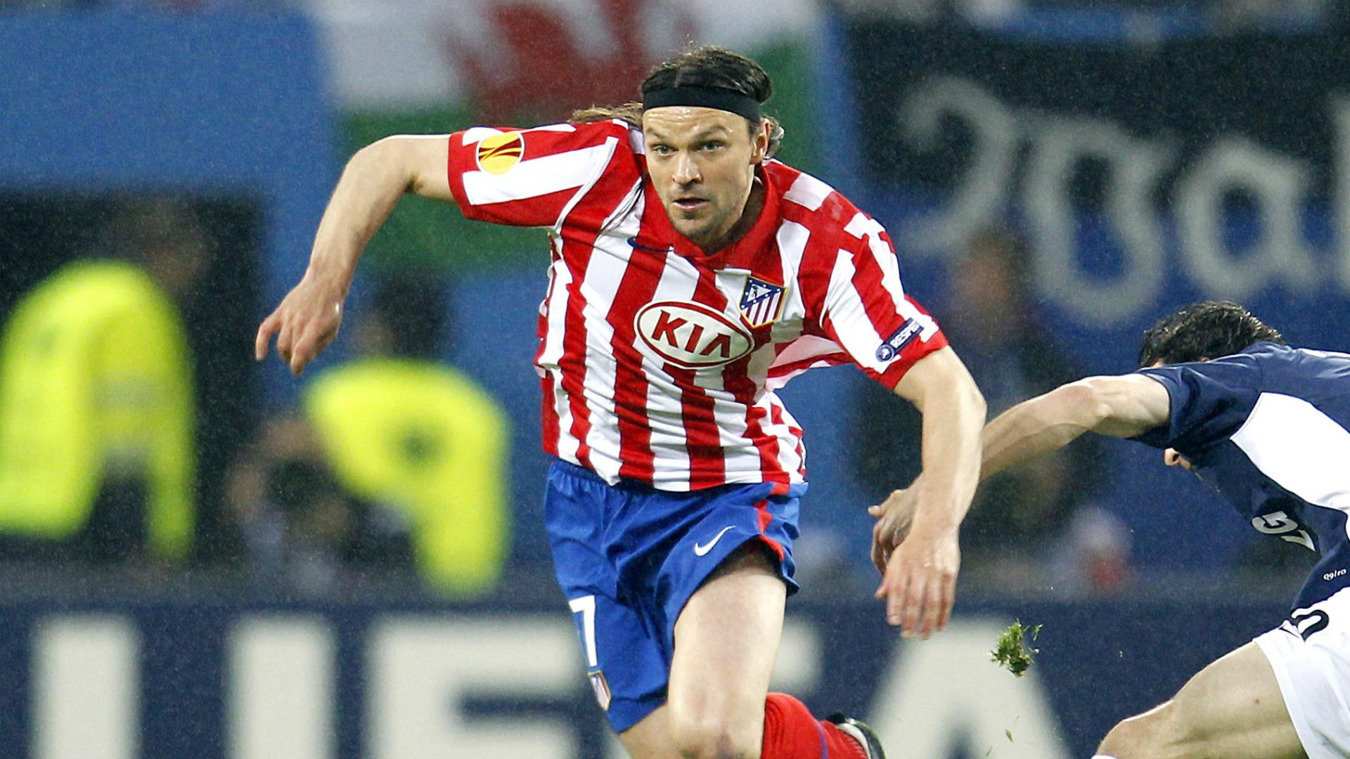 Tomas Ujfalusi Atletico Madrid