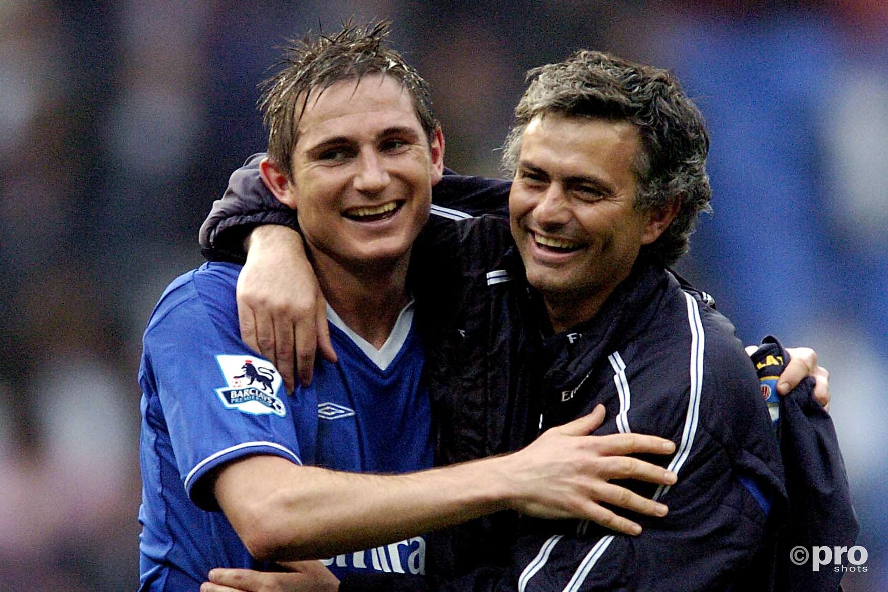 Mourinho en Lampard in 2005