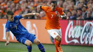 Memphis Depay Netherlands Iceland Euro Qualifier 09032015