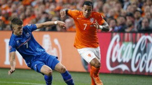 Memphis Depay Netherlands Iceland Euro Qualifier 09032015