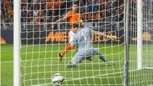 Robin van Persie Netherlands Kazakhstan Euro 2016 Qualifier 10102014