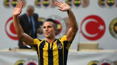 Robin van Persie presentation Fenerbahçe 07142015