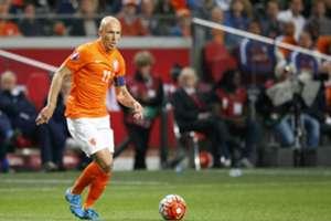 Arjen Robben, Nederland - IJsland, 12102015