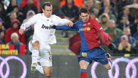 Christoph Metzelder Lionel Messi Barcelona Real Madrid 2008/09