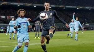 Tonny Vilhena, Robin van Persie, Feyenoord vs. Fenerbahçe, 12082016