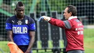 Cesare Prandelli Mario Balotelli Italy
