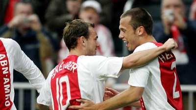 Wesley Sneijder John Heitinga Ajax