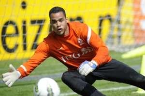 Michel Vorm, Oranje-training 2012