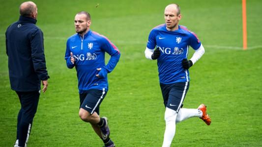Wesley Sneijder, Arjen Robben, Nederlands Elftal, Oranje
