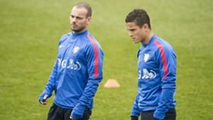 Wesley Sneijder, Ibrahim Afellay, Nederlands Elftal, Oranje